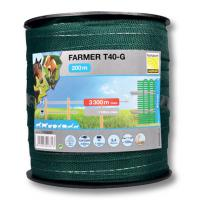 ELECTRIC TAPE 40mm / 200 mt., GREEN COLOUR