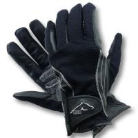 HORSE RIDING GLOVES RSL model DAVOS MICROFLEECE and LEATHER