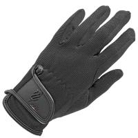 COTTON AND LEATHER GLOVES