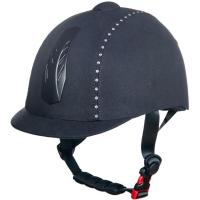 RIDING HELMET WITH CRYSTALS, model DIAMOND - 3204