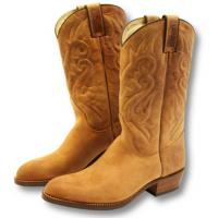 SANCHO BOOTS WESTERN NUBUK BOOTS
