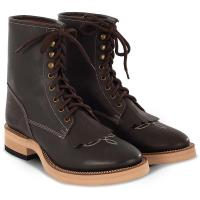 WESTERN BOOTS POOLS WITH FRINGES AND LACES