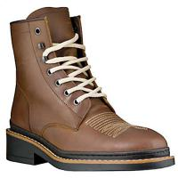 HORSE RIDING WESTERN WORK ANKLE BOOTS PIONEER OILED LEATHER TARTARO model