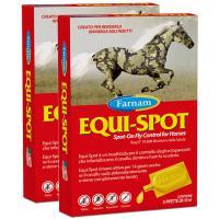 SET 2 PIECES art.0862 FARNAM EQUI-SPOT, INSECT REPELLENT FOR HORSES 6x10ml