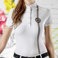 COMPETITION POLO WOMAN EQUILINE model MANDY SHORT SLEEVE
