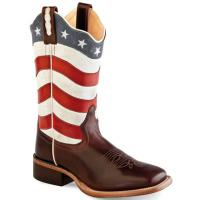 BOOTS WESTERN OLD WEST WOMEN model USA FLAG