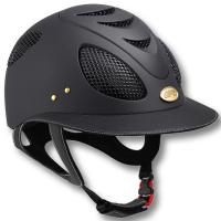 RIDING HELMET GPA FIRST LADY LEATHER 2X WITH LARGE VISOR