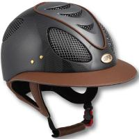 RIDING HELMET GPA FIRST LADY CARBON 2X WITH LARGE VISOR