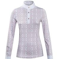 LADIES EQUILINE EVOLUTION SHOW SHIRT with LONG SLEEVE