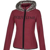 LADIES SOFT SHELL JACKET EQUILINE ELLY
