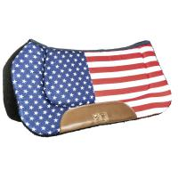 WESTERN SADDLECLOTH model STARS AND STRIPES - 5073