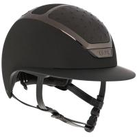 RIDING HELMET KASK LEATHER on STAR LADY