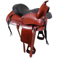 NATOWA WESTERN SADDLE WITH PADDED SEAT - 4851