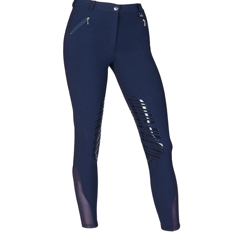 RIDING BREECHES WOMEN'S brand WINNER, COTTON AND MICROFIBER WITH GRIP