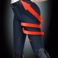 BREECHES EQUILINE X SHAPE for WOMAN model HALF GRIP