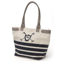 NAUTICAL SPORTS HORSEWARE CANVAS TOTE BAG - 9498