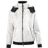 WOMAN PLUSH JACKET EQUILINE