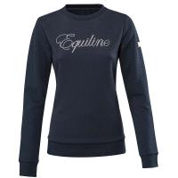LADIES EQUILINE ROUND NECK SPORTY SWEATER