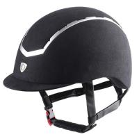 CAP TATTINI WITH MICROFIBER COVERING AND SILVER INSERTS