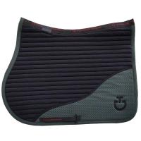 CAVALLERIA TOSCANA SADDLECLOTH DIAMOND PERFORATED