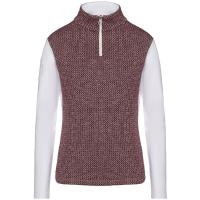 LADIES CAVALLERIA TOSCANA TRAINING POLO JERSEY AND KNIT FLEECE