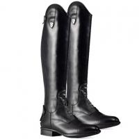 RIDING BOOTS TATTINI BOXER IN SMOOTH LEATHER HIGH QUALITY, LACE FRONT