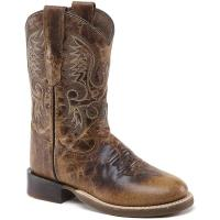 WESTERN LADIES AND JUNIOR BOOTS OLD WEST AGED EFFECT