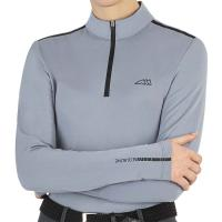 WOMAN SECOND SKIN TECHNICAL SHIRT EQUILINE CAMILC - 9203