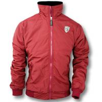 WINTER BOMBER JACKET IN BREATHABLE TECHNICAL FABRIC WITH FLEECE LINING