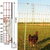 ELECTRIFIED NETWORK FOR CHICKENS AND GEESE, REEL 50 MT