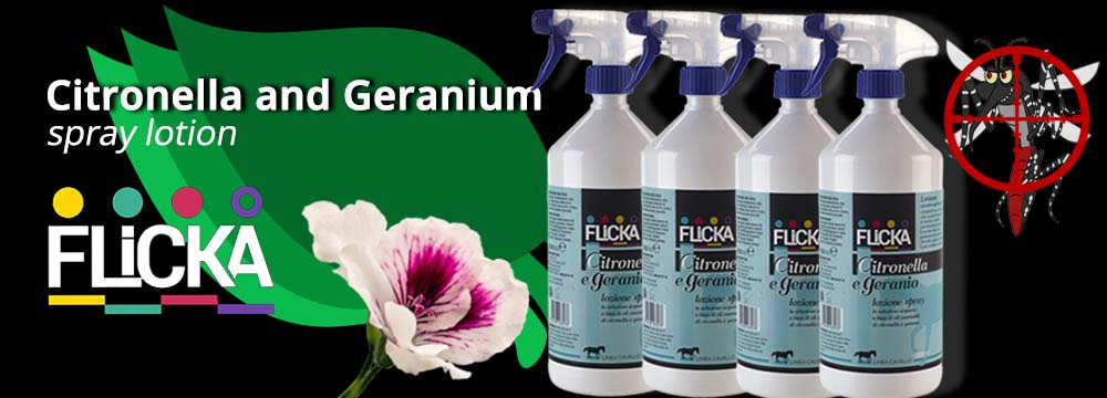 Citronella and Geranium Spray Lotion: the new Natural Repellent!