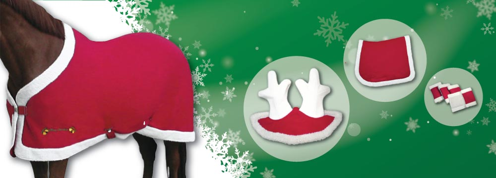 Christmas Horse Accessories: discover your favorites!