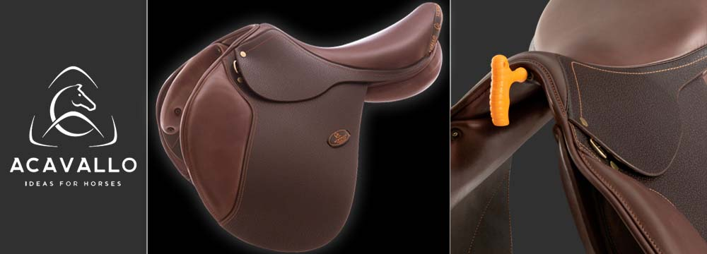 Acavallo Jumping Saddle with Adjustable Gullet