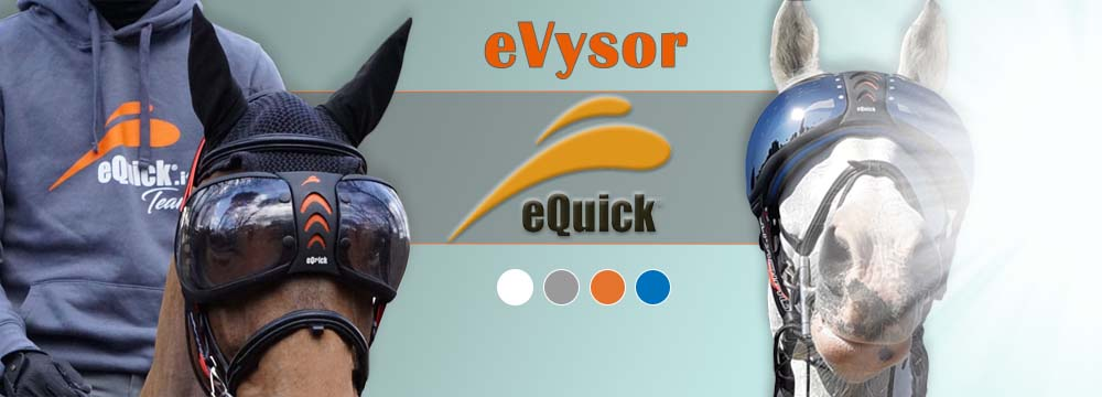 Protect you Horse against UV Rays: discover the eVYSOR Glasses!