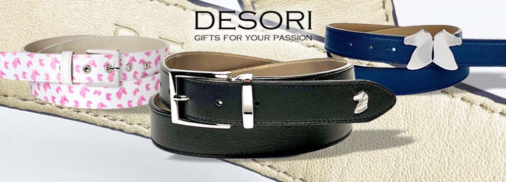 Desori Handcraft Horse Riding Belts, 100% Made in Venice