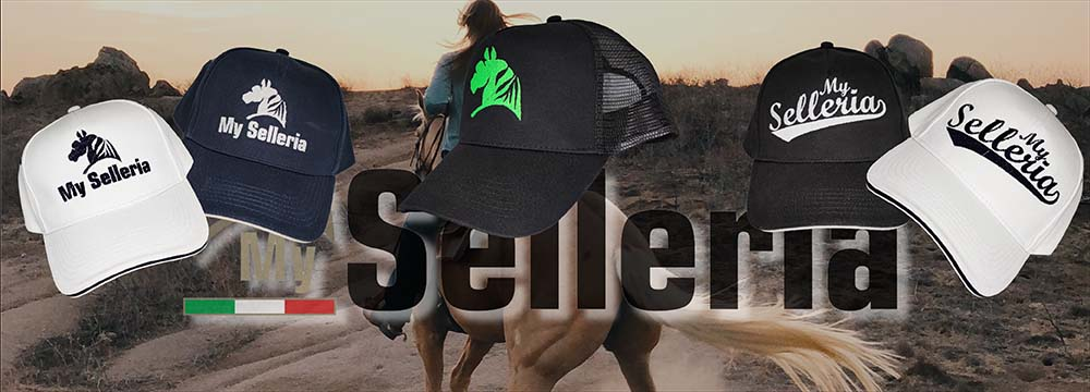 New My Selleria Caps with embroidery, choose your Style!