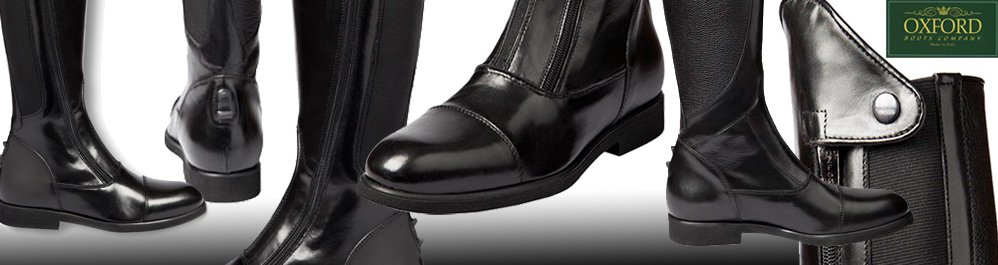 Oxford English Riding Boots by Barkley