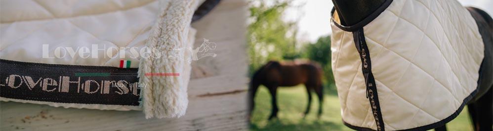 Protective under rug in bio ceramic Lovehorses Magic