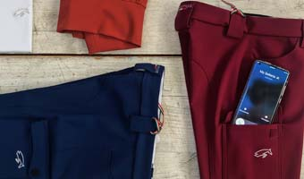 Breeches with Smartphone pocket